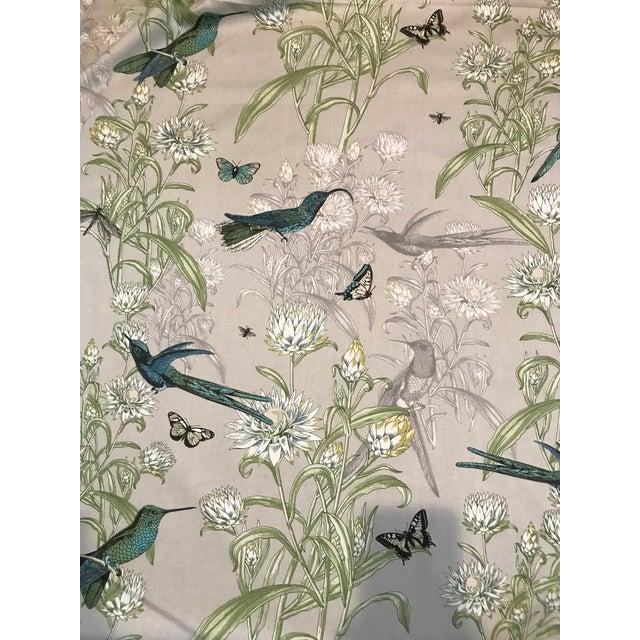 Blendworth Menagerie Enchanted Forest Cotton Fabric 6 Plus Continuous Yards For Sale