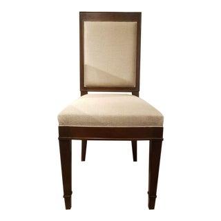 Haussmann Muslin Upholsteed Side Chair