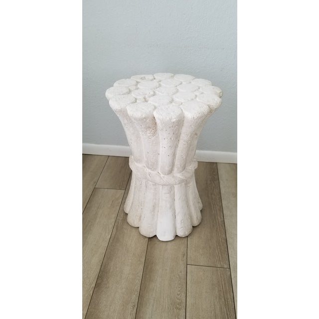 Hollywood Regency John Dickinson Style Plaster Dining Table Base . For Sale - Image 3 of 10