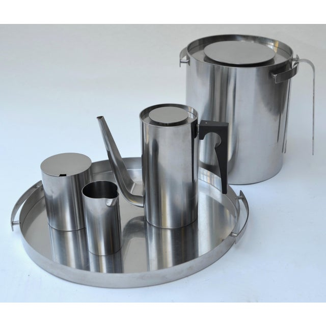 1960s Arne Jacobsen Stainless Set for Stelton For Sale - Image 5 of 8