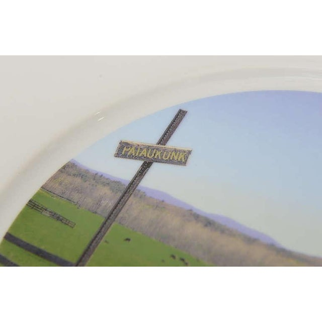 """Upstate Collection"" Porcelain Charger/Serving Plate - Image 4 of 8"