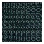 Justina Blakeney Monterey Printed Cotton and Linen Fabric, Indigo