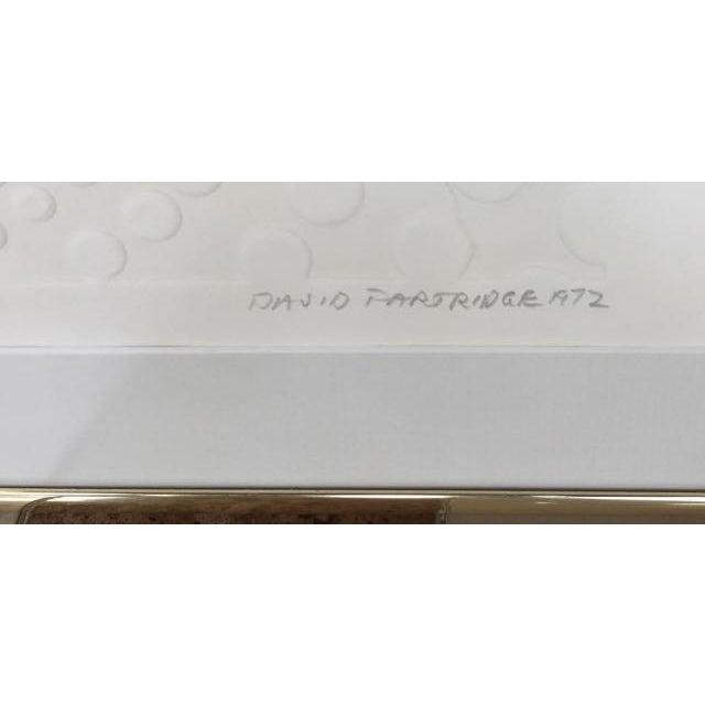 "White David Garry Partridge ""White #1"" Print For Sale - Image 8 of 10"