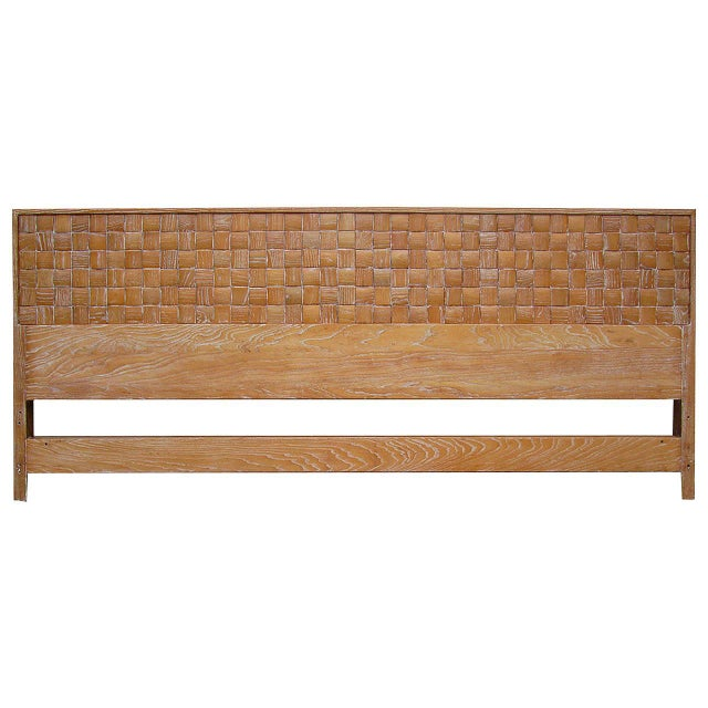 Paul Laszlo King-Size Headboard - Image 1 of 3