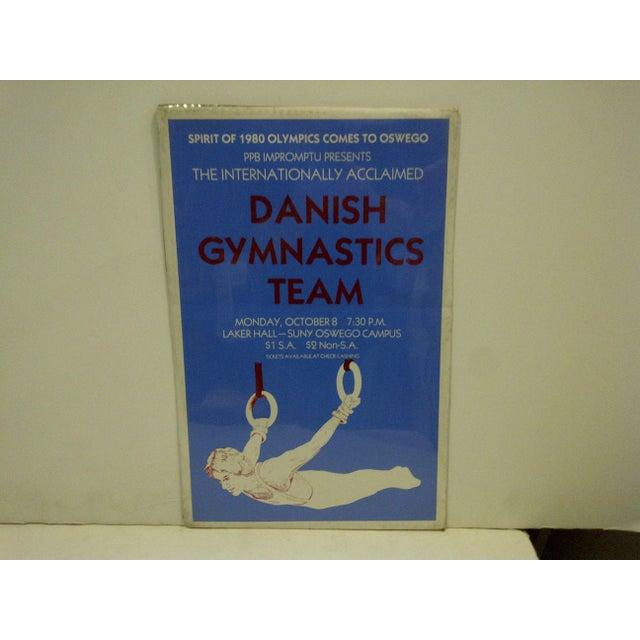 "Danish Gymnastics ""Spirit of 1980 Olympics"" Team Poster - Image 2 of 4"