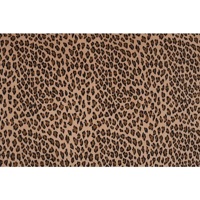 African A Pair Cheetah Print Pillows For Sale - Image 3 of 5