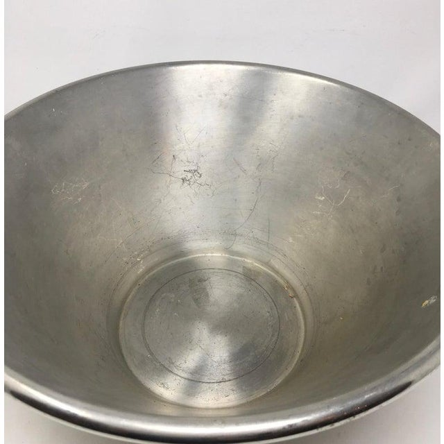 Metal Mercier Champagne Bowl For Sale - Image 7 of 10