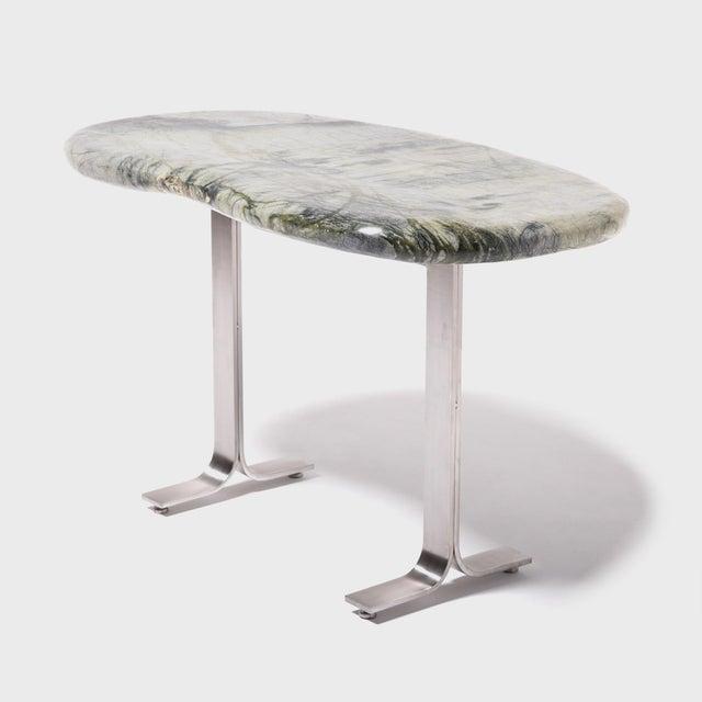 Meditation Stone Top Desk For Sale - Image 4 of 8