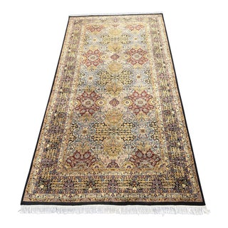 Fine Hand Knotted Area Rug - 6' 12' For Sale