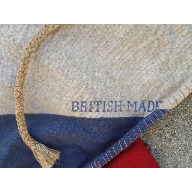 "72"" Vintage British Flag - Image 4 of 4"