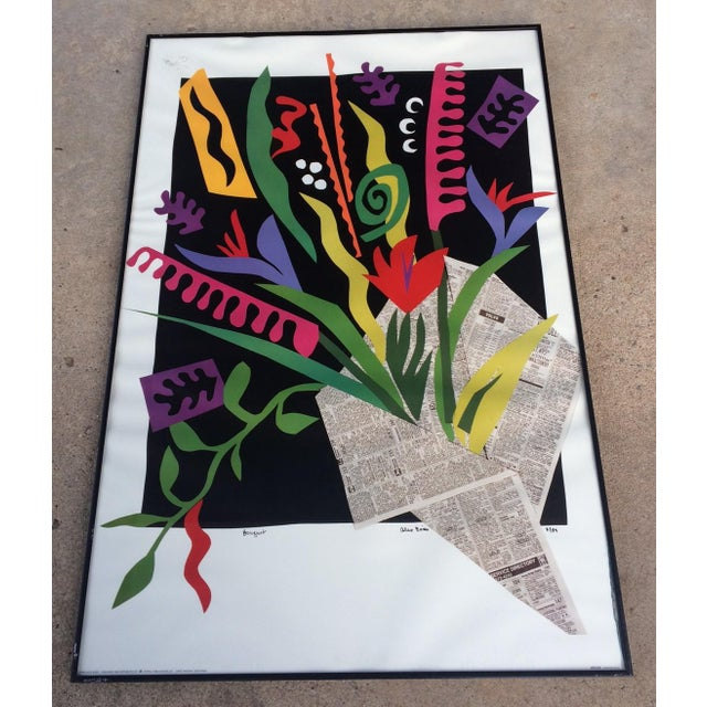 "Alex Boies Signed ""Bouquet"" Offset Lithograph - Image 2 of 6"
