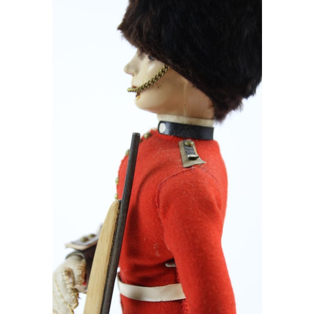 English Traditional Ideal Buckingham Palace Grenadier Guard For Sale - Image 3 of 5