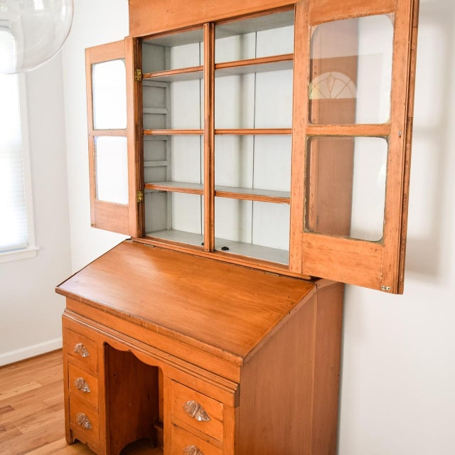 Antique Victorian Secretary Desk Bookcase or Hutch For Sale - Image 5 of 8 - Antique Victorian Secretary Desk Bookcase Or Hutch Chairish