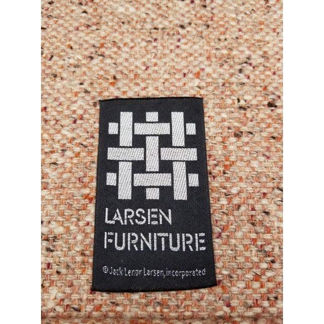 Larsen Furniture Jack Lenor Larsen Low Sofa and Swivel Lounge Chair - A Pair - Image 6 of 11