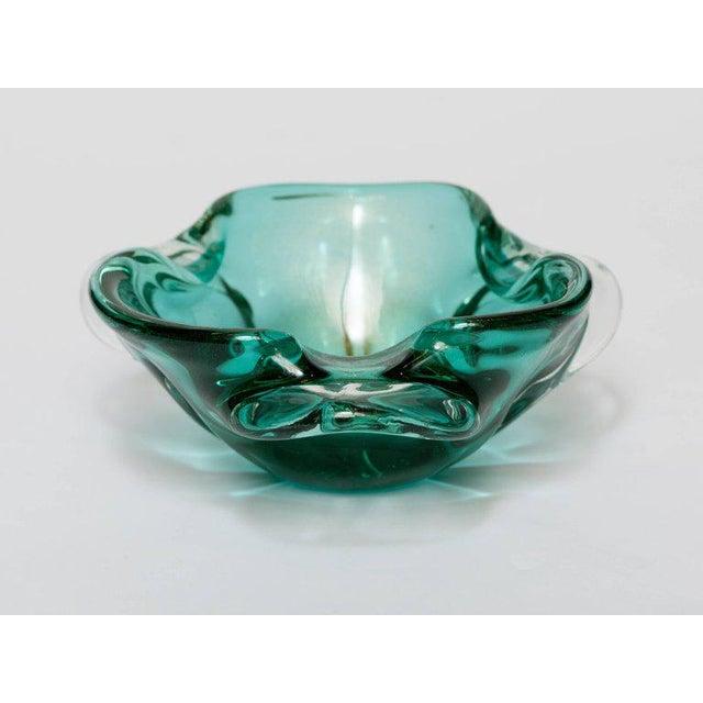Seguso Mid-Century Organic Modern Murano Bowl For Sale - Image 9 of 9
