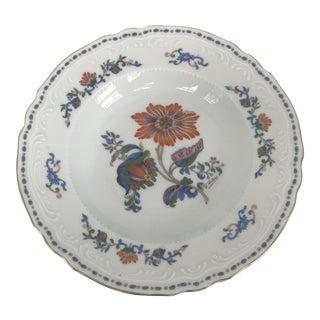 Royal Limoges D'artois Floral Porcelain Decorative Bowl For Sale