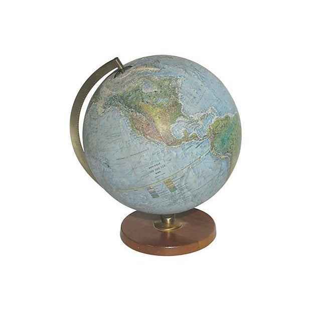 Vintage Lighted World Globe - Image 2 of 4