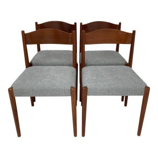 Vintage Danish Dining Chairs- Set of 4 For Sale