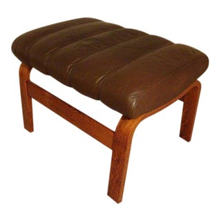 Møbelfabrikk/Westnofa Mid Century Orbit Lounge Ottoman For Sale