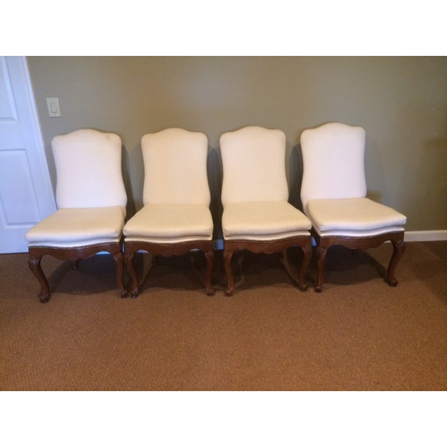 Baker French Country Dining Chairs - Set of 6 - Image 5 of 6
