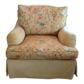 Designer Upholstered Lounge Chair