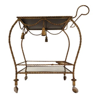1960's Italian Bar Cart For Sale