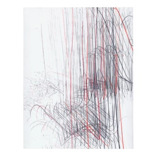 "Jaanika Peerna ""Screech of Ice Series 43"", Drawing For Sale"