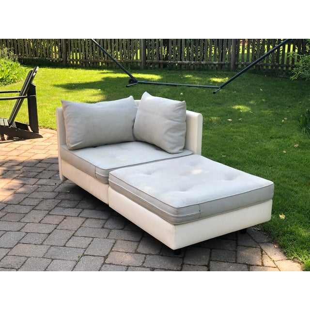Ligne Roset 1990s Mid-Century Modern Ligne Roset Nomade by Didier Gomez Chaise For Sale - Image 4 of 11