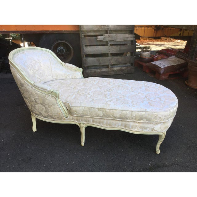 French Painted Chaise - Image 2 of 6