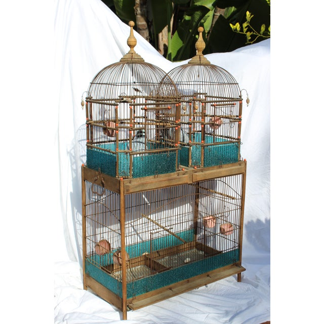 19th Century English Victorian Bird Cage For Sale - Image 9 of 9