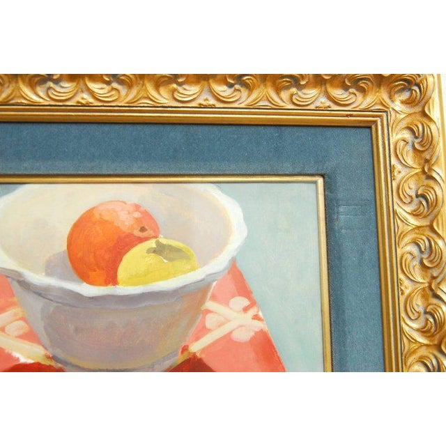 Glass Breakfast Still Life Watercolor Painting by Lisa Esherick For Sale - Image 7 of 11
