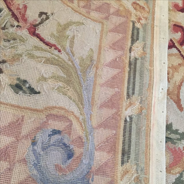 Vintage French Tapestry For Sale - Image 9 of 9