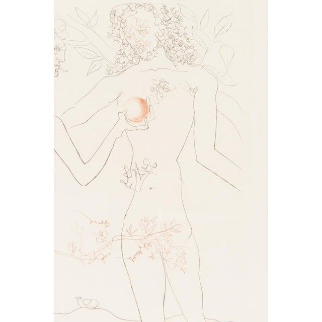 """Salvador Dali """"Adam & Eve"""" Signed Lithograph - Image 4 of 10"""