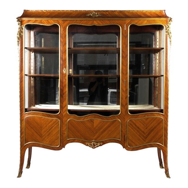 Antique Louis XV Vitrine For Sale