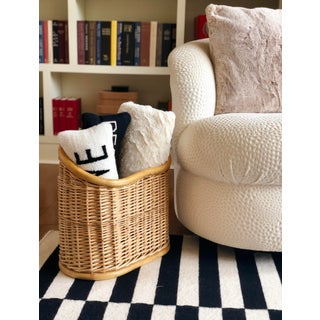 Vintage Wicker and Bamboo Basket Preview