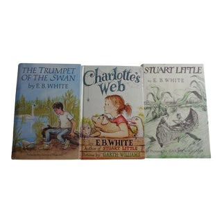 E.B. White Children's Books - Set of 3