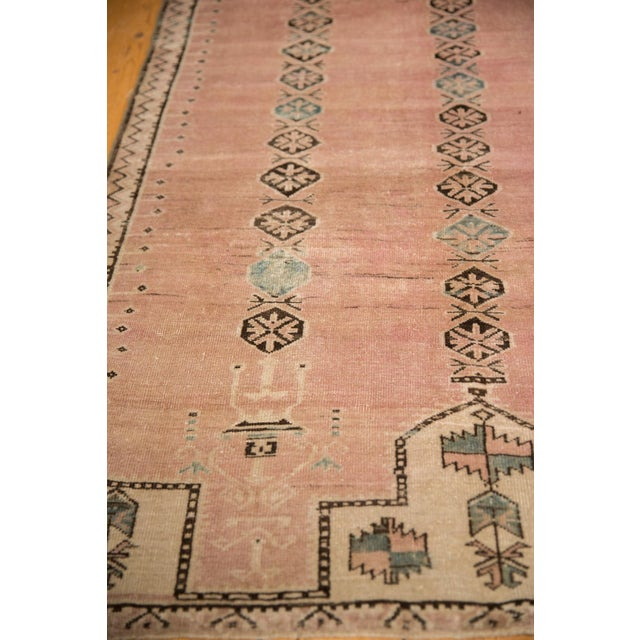 """Vintage Distressed Belouch Rug - 3'8"""" X 6'7"""" For Sale In New York - Image 6 of 12"""