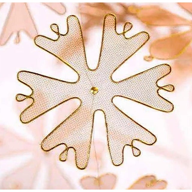 Rare and Important Paavo Tynell 'Fantasia' Snowflake Chandelier for Taito Oy For Sale In Dallas - Image 6 of 12