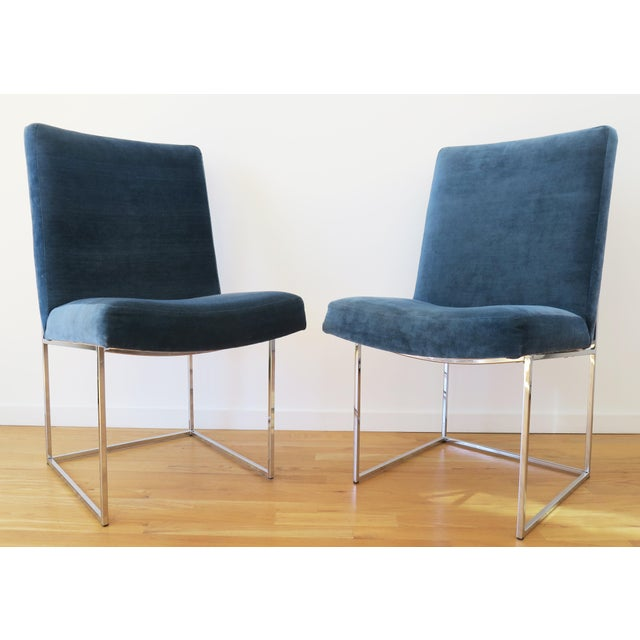 Mid-Century Milo Baughman for Thayer Coggin Rosewood Table and Dining Chairs Set For Sale In Los Angeles - Image 6 of 10