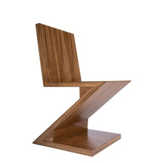 Zig Zag Chair in Brown