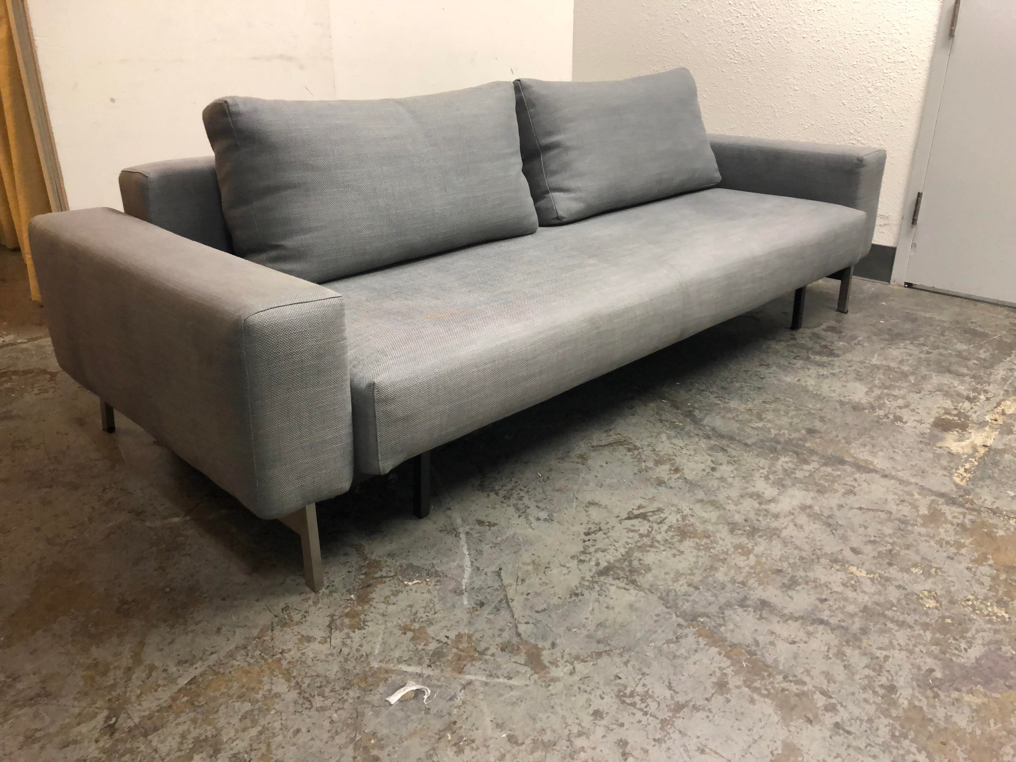Bon Contemporary Room U0026 Board Full Size Sleeper Sofa For Sale   Image 3 Of 10