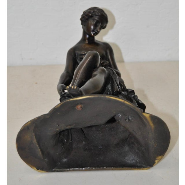 19th C. Bronze Ballerina For Sale - Image 5 of 5