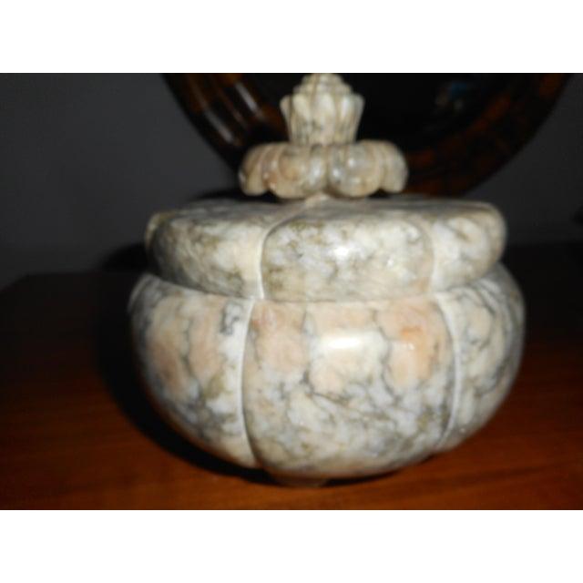 Vintage Italian Alabaster Covered Jar - Image 5 of 5
