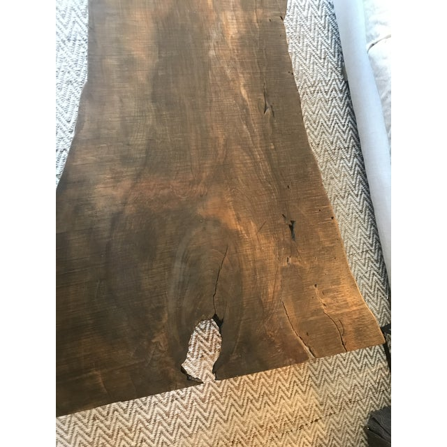 ABC Carpet & Home ABC Home Reclaimed Wood Coffee Table For Sale - Image 4 of 8