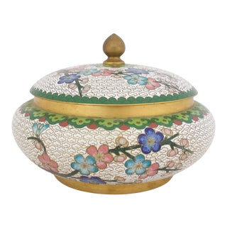 Early 20th C. Cloisonne Box For Sale