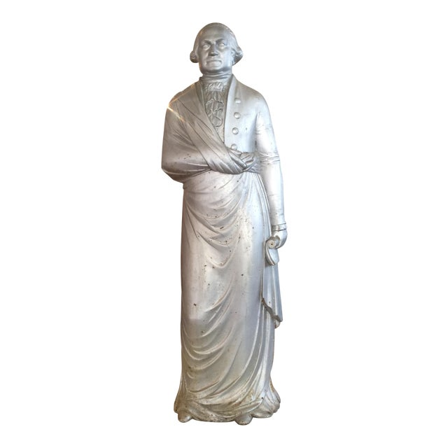 George Washington 1870's Cast Iron Stove Figure For Sale