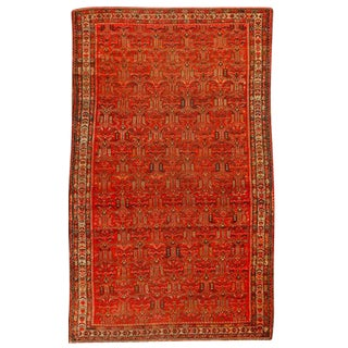 Antique Late 19th Century Persian Malayer Rug For Sale
