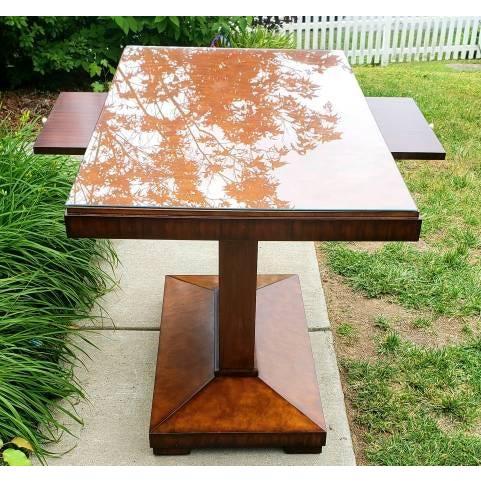 Maitland - Smith Art Deco Maitland Smith Foyer Table For Sale - Image 4 of 6