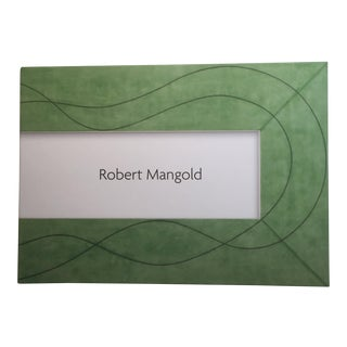 Robert Mangold Pace Gallery Coffee Table Book