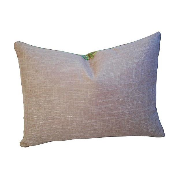 Designer Italian Fortuny Farnese Pillows - A Pair - Image 5 of 7